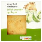 essential Waitrose british bramley apple pie - 550g