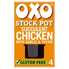 Oxo 4 Stock Pot Chicken - 80g Brand Price Match - Checked Tesco.com 25/11/2015