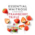 essential Waitrose Strawberry Trifle - 600g