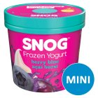 Snog frozen yogurt berry blue açai burst - 140ml Brand Price Match - Checked Tesco.com 22/10/2014