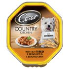 Cesar country kitchen turkey & brown rice - 150g Brand Price Match - Checked Tesco.com 10/09/2014