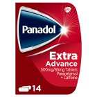 Panadol extra advanced tablets (pack of 14) - 14s Brand Price Match - Checked Tesco.com 18/08/2014