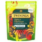 Twinings apple & elderflower loose leaf 50 tea cups - 125g