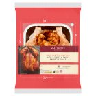 Waitrose sweet & smoky barbecue whole British chicken - 1.5kg