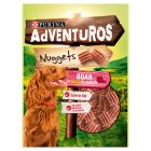PURINA® ADVENTUROS® Nuggets Adult Dog Rich in Meat Boar flavour Treats Bag - 90g