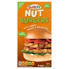 Goodlife parsnip & carrot nut burgers - 320g