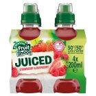 Robinsons Fruit Shoot my-5 apple & blackcurrant juice - 4x200ml
