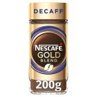 NESCAFE Gold Blend Decaff Instant Coffee 200g - 200g