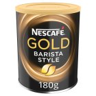 Nescafé gold blend barista style - 180g Brand Price Match - Checked Tesco.com 17/08/2016