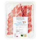 essential Waitrose British pork loin rack of ribs -