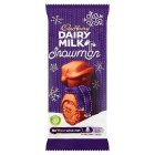 Cadbury chocolate mousse snowman - 30g