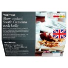 Waitrose Slow cooked South Carolina pork belly - 450g