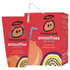 Innocent kids peach and passion fruit smoothie, 4x180ml - 4x180ml
