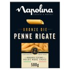 Napolina Penne Rigate Bronze Die Pasta - 500g
