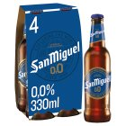 San Miguel Sin 0,0% Alcohol - 4x33cl