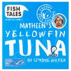 Fish Tales YellowfinTuna in Spring Water - drained 112g