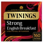 Twinings 160 English Strong Breakfast Tea Bags - 500g