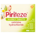 Piriteze allergy tablets - 12s
