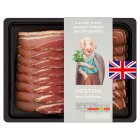 Heston from Waitrose Alderwood smoked British streaky bacon, 8 rashers - 200g