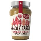 Whole Earth organic peanut butter crunchy - 340g