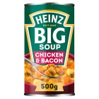 Heinz Big Soup smokin chicken & bacon - 500g Brand Price Match - Checked Tesco.com 04/12/2013