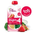 Plum kale & strawberry yogurt - 100g Brand Price Match - Checked Tesco.com 21/04/2014