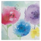 Waitrose Painterly Floral Blank Card - each