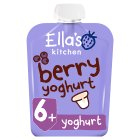 Ella's kitchen berry yummy yoghurt Greek style - 90g Brand Price Match - Checked Tesco.com 27/07/2016
