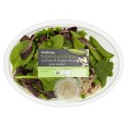 Waitrose quinoa & sugar snap pea salad - 170g