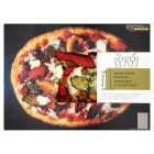 menu from Waitrose Fire roasted vegetable & pesto pizza - 585g