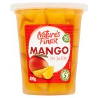 Nature's Finest Mango Slices (in juice) - drained 210g Brand Price Match - Checked Tesco.com 17/09/2014