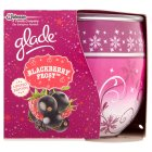 Glade candle blackberry frost - each