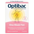 OptiBac Probiotics for a flat stomach