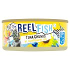 The Reel Fish Co tuna in sunflower oil - drained 112g