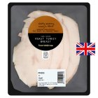 Waitrose hand carved roast turkey breast, 3 slices -