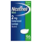 Nicotinell mint lozenge, 2mg - 96s Brand Price Match - Checked Tesco.com 16/04/2014