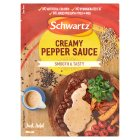 Schwartz mix creamy pepper sauce - 25g Brand Price Match - Checked Tesco.com 01/07/2015