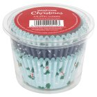 Waitrose Christmas muffin paper cases - 75s