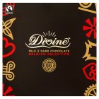 Divine milk & dark Belgian chocolate collection - 225g