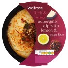 Waitrose aubergine dip with lemon & paprika topping