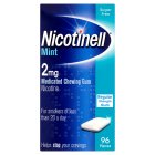 Nicotinell mint chewing gum, 2mg - 96s Brand Price Match - Checked Tesco.com 16/04/2014