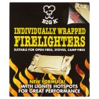 Big K wrapped firelighters