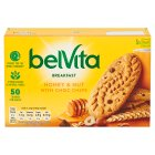 BelVita Breakfast biscuits - honey & nuts - 6x50g