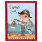 Rachel Ellen pirate thank you cards, pack of 5 - 5s