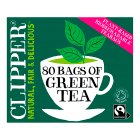 Clipper 80 Pure Green Teabags - 160g