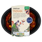 Waitrose Indian aubergine masala - 330g