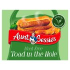 Aunt Bessie's vegetarian toad in the hole