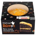 Waitrose Halloween chocolate cake - each