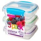 Sistema 200ml 3 Pack Colour Accents -