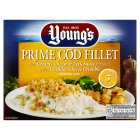 Young's prime cod fillet in a cheese & leek sauce - 200g